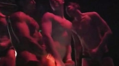 bodybuilder   gay party   pornstars