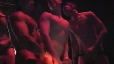 bodybuilder  gay party  pornstars