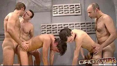 anal  gangbang  gay group sex